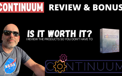 Continuum Review & my custom bonuses
